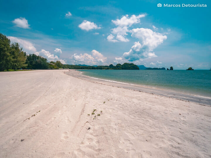Tanjung Rhu Beach in Langkawi, Malaysia