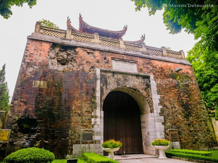 Thang Long Imperial Citadel in Old Quarter, Hanoi, Vietnam