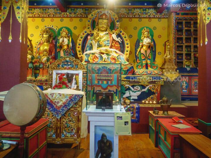 The Yeti Skull at Khumjung Monastery