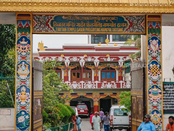 Tibetan Temple (Gaden Phelgayling Namgyal Datsang), Bodghaya