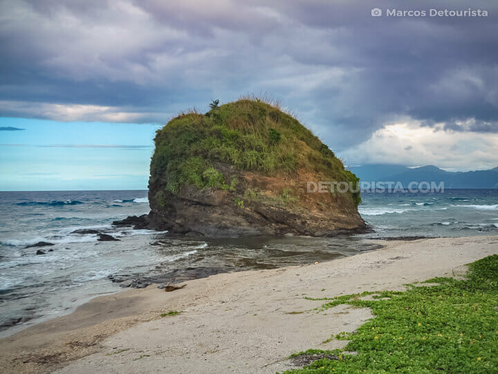 Timmangtang Rock in Pagudpud, Ilocos Norte, Philippines