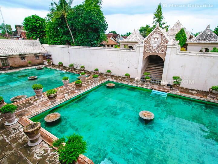 Water Castle (Taman Sari) in Yogyakarta, Java, Indonesia