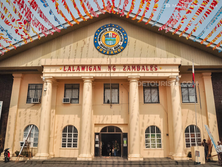 Zambales Provincial Capitol in Zambales, Philippines