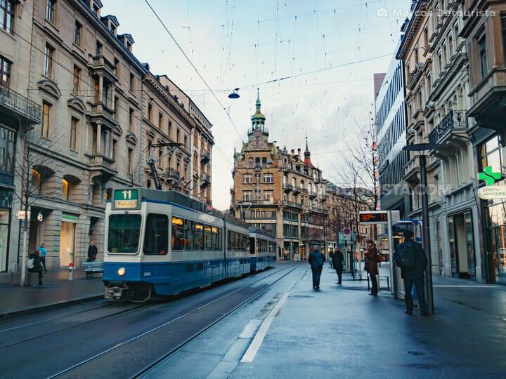 Bahnhofstrasse in Zurich, Switzerland