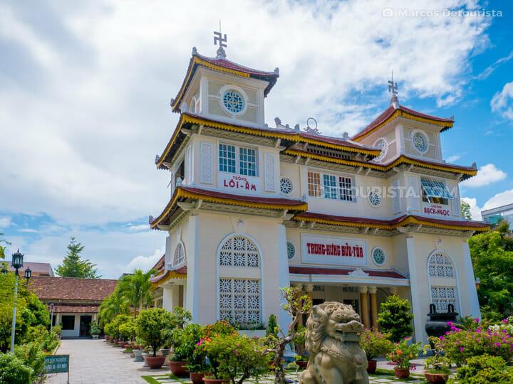 Cao Dai Temple in Da Nang City Center, Vietnam