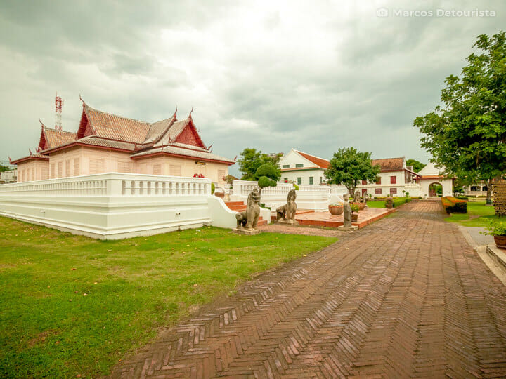 Chantharakasem National Museum in Ayutthaya, Thailand