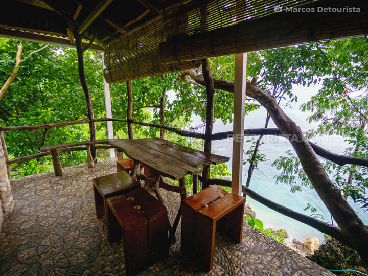 Cliff cottage  at Nature's Eye Beach Resort
