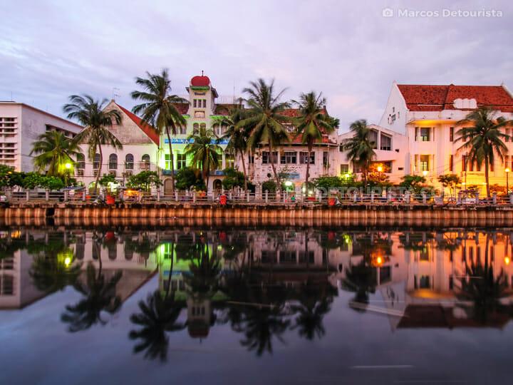 Dutch-colonial buildings in Kota Tua (Batavia Old Town)