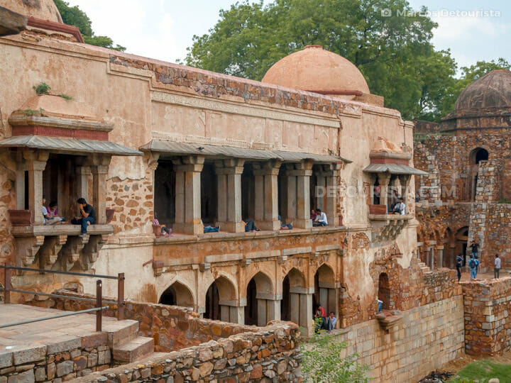 Hauz Khas in New Delhi, India