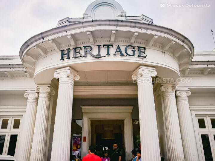 Heritage Factory Outlet in Bandung, Indonesia