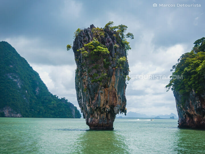 James Bond Island near Koh Hong, in Phra Nga National Park