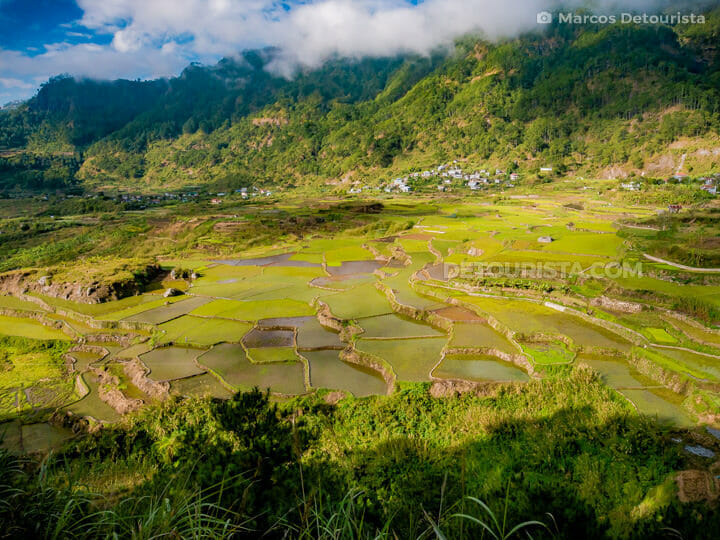 Kapay-aw Rice Terraces in Sagada, Mountain Province, Philippines