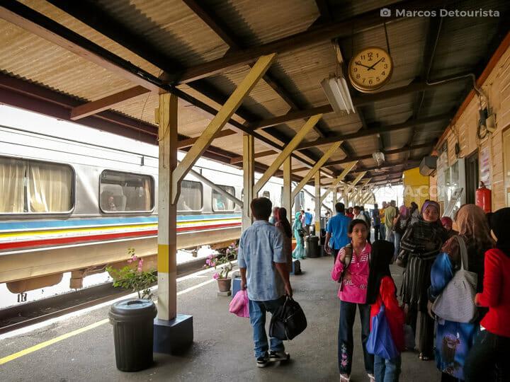 Kuala Lipis train station