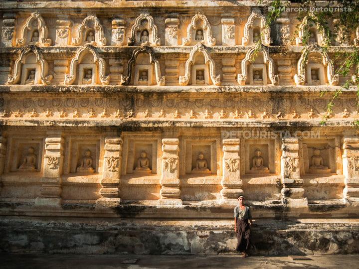 Marcos at Mahabodhi Temple