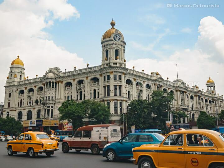Metropolitan Building along Chowringhee Road, Kolkata, India