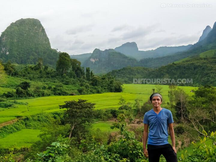 Muang Ngoi Neua Rice Fields, Laos