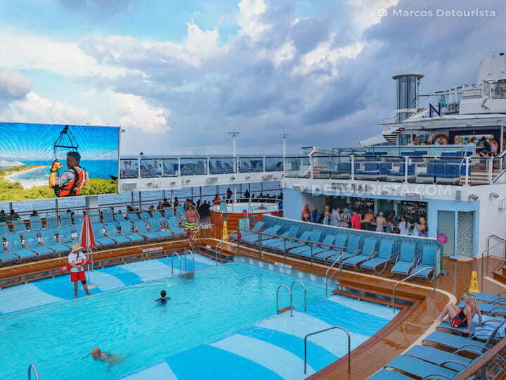 Outdoor Pool Deck 14 - Quantum of the Seas by Royal Caribbean