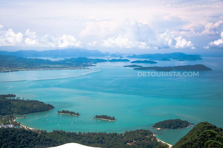 Overlooking Langkawi, Malaysia