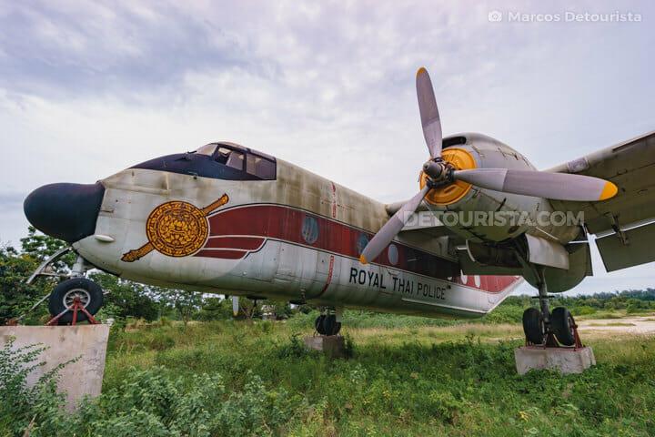Royal Thai Airforce Plane, Hua Hin