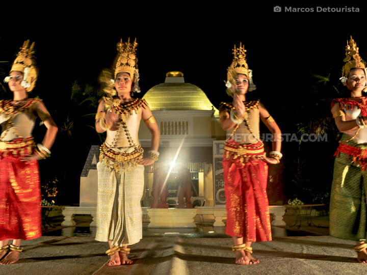 Apsara Dancers, in Siem Reap, Cambodia