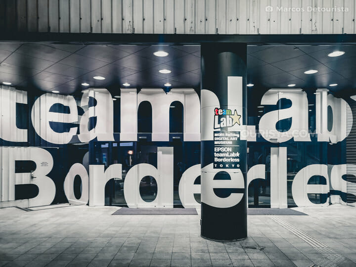 TeamLab Borderless, Tokyo