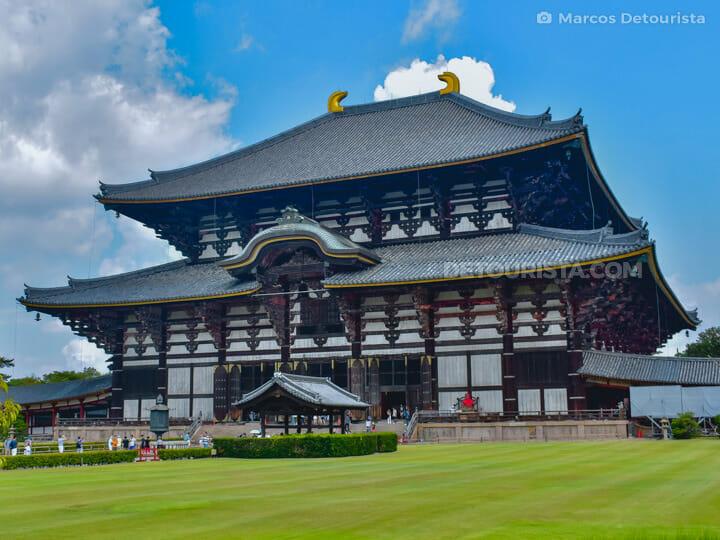 Todai-ji temple in Nara, Japan