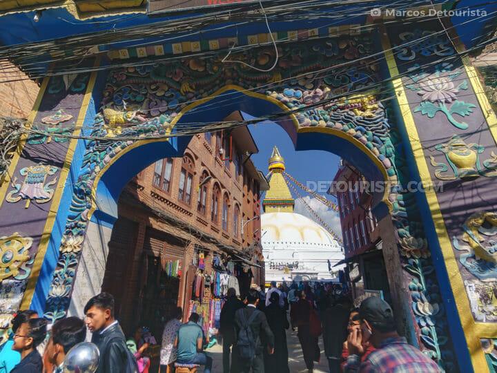 Boudhanath in Kathmandu, Nepal