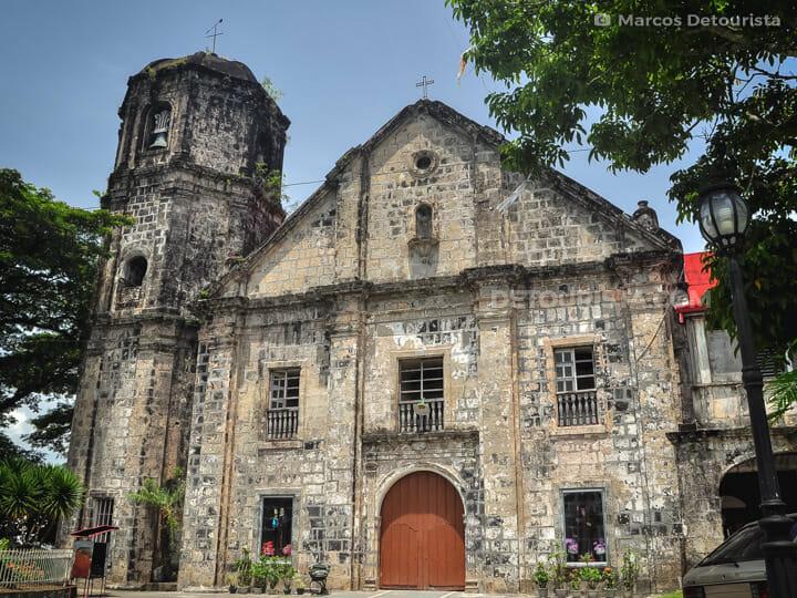Camalig Church in Albay, Philippines