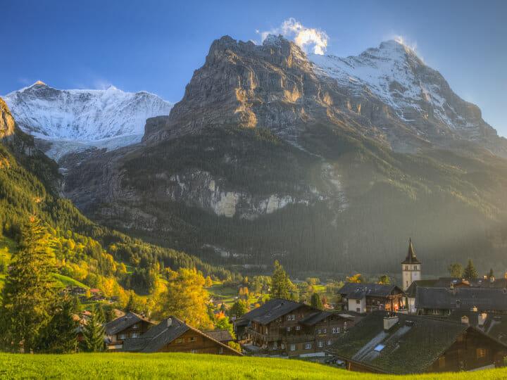 Grindelwald village, Switzerland