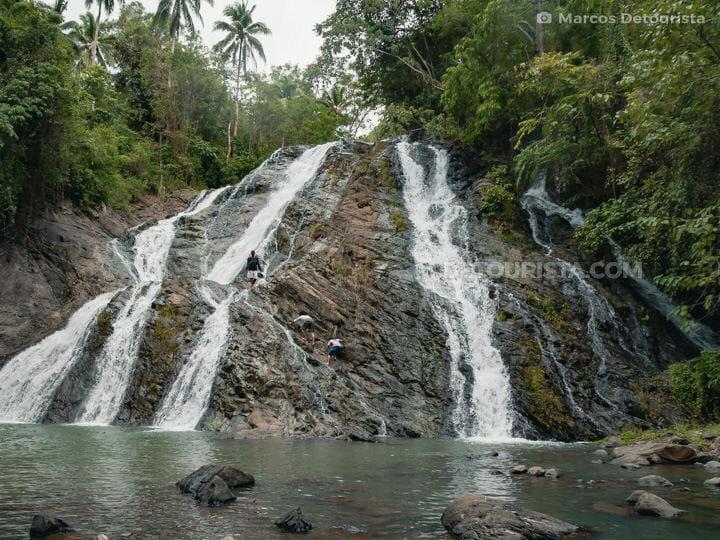 Kanapulan Falls (Third Cascade) in Naawan, Misamis Oriental