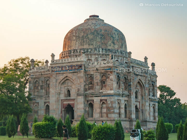 Lodhi Gardens in New Delhi, India