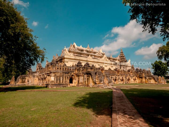 Maha Aungmye Bonzan Monastery, Inwa