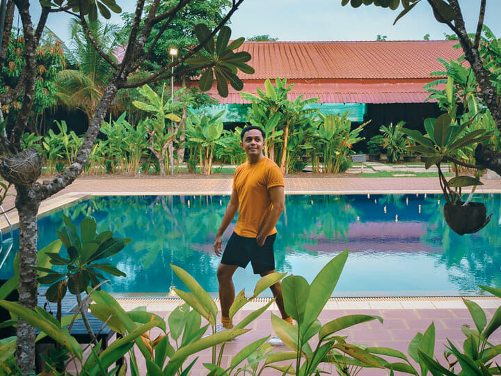 Marcos at Crown Angkor Hotel & Spa in Siem Reap, Cambodia