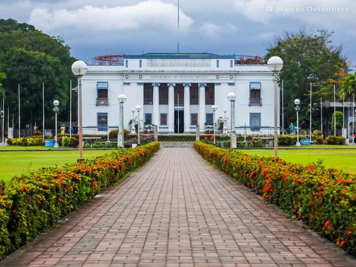 Negros Oriental Provincial Capitol in Dumaguete City, Negros Ori