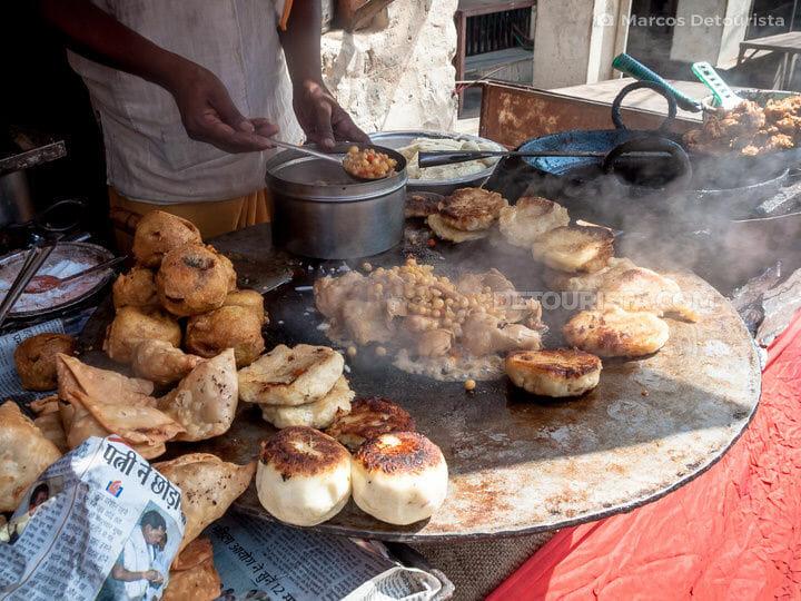 Orchha food stall