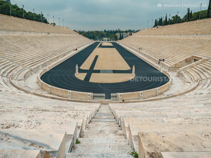 Panathenaic Stadium in Athens, Greece