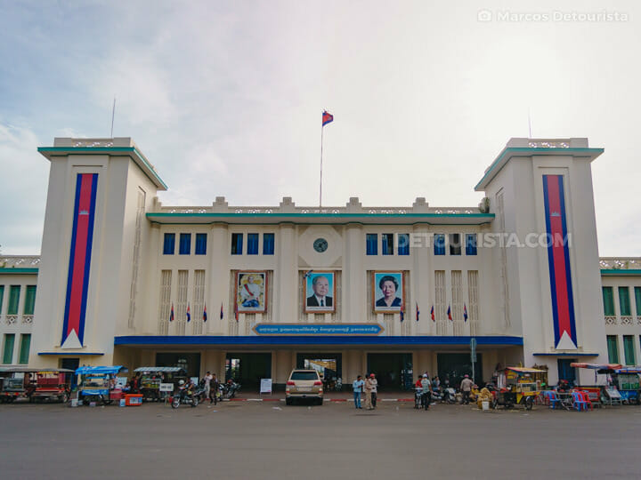 Royal Railway Station in Phnom Penh, Cambodia