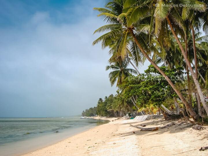 San Juan Beach in Siquijor, Philippine