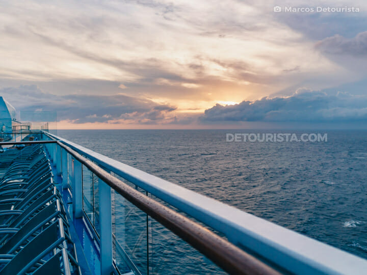 Sun Deck 15 - Quantum of the Seas by Royal Caribbean