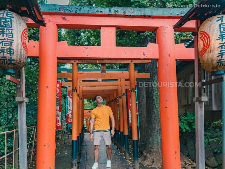 Ueno-Ana Inari shrine, Tokyo