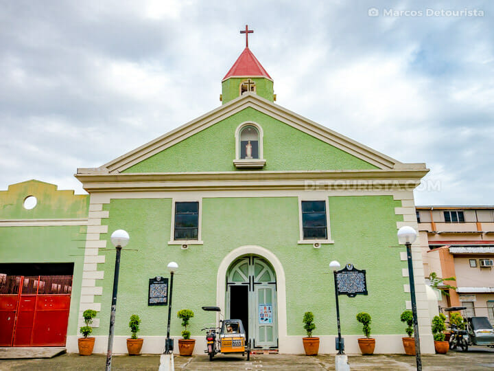 Baler Church, in Baler, Aurora, Philippines