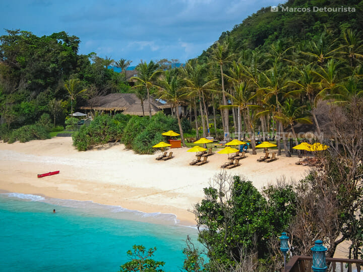 Banyugan Beach at Shangri-la Boracay Resort, in Boracay Island, Malay, Aklan, Philippines