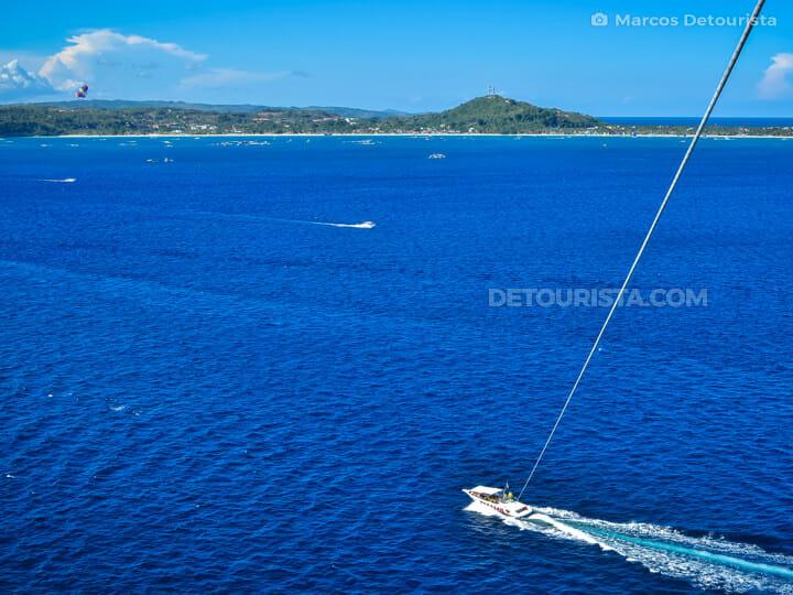 Boracay parasailing