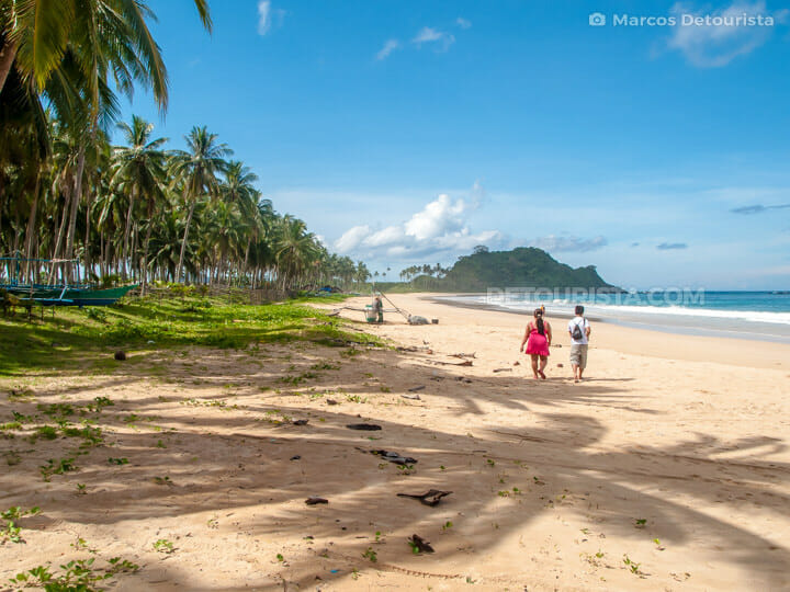 Calitang Beach, El Nido
