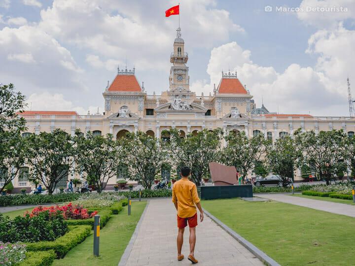 Ho Chi Minh City Hall, Ho Chi Minh