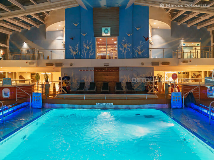 Indoor Pools Deck 14 - Quantum of the Seas by Royal Caribbean