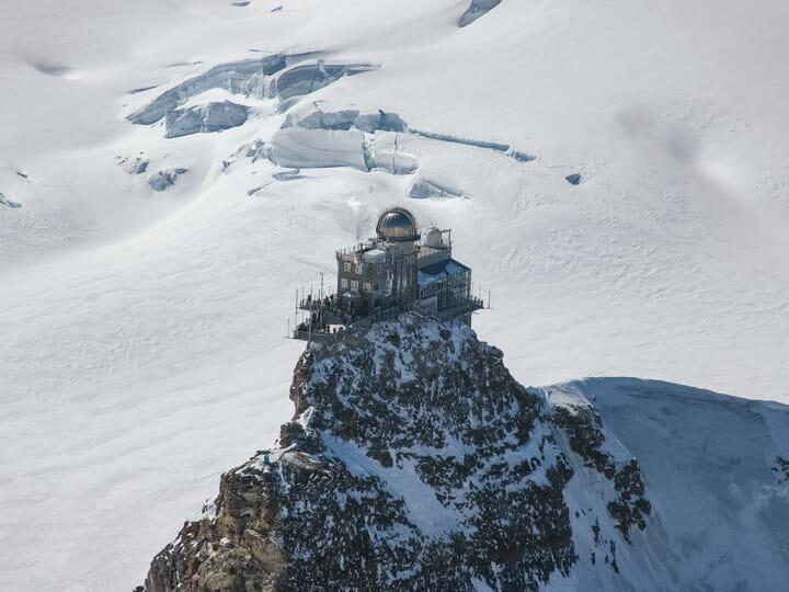 Jungfraujoch Sphinx Observation, Switzerland