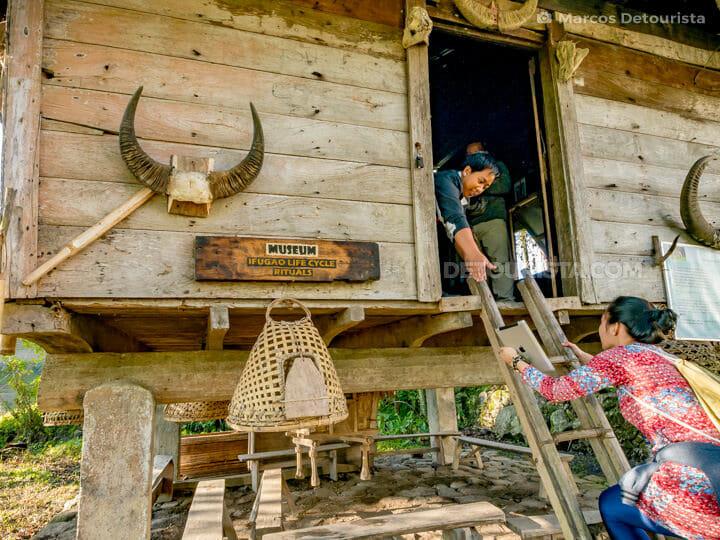 Kiangan Rice Terraces & Open Air Museum, in Kiangan, Ifugao, Phi