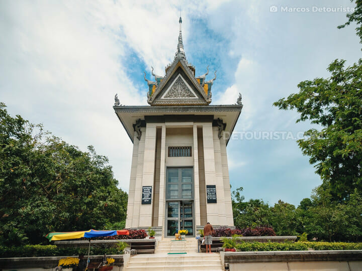 Killing Fields (Choeung Ek Genocidal Center), in Phnom Penh, Cam