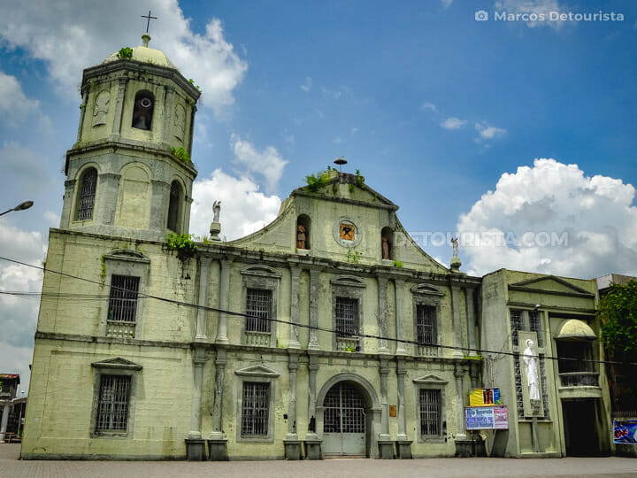 Ligao Church in Albay, Philippines
